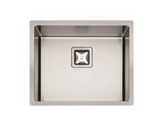 Lavello a una vasca in acciaio inoxP1B 5545 Q F-SF   Lavello - FULGOR MILANO BY MENEGHETTI