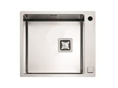 Lavello a una vasca in acciaio inoxP1B 5651 QA F-SF | Lavello - FULGOR MILANO BY MENEGHETTI