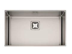 Lavello a una vasca in acciaio inoxP1B 7343 Q U   Lavello - FULGOR MILANO BY MENEGHETTI