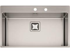 Lavello a una vasca in acciaio inoxP1B 8651 QA F-SF | Lavello - FULGOR MILANO BY MENEGHETTI