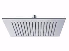 Soffione doccia a pioggia a soffitto in ottone con sistema anticalcare PABLOLUX - F1701 - Pablolux