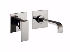 Miscelatore per lavabo a 2 fori a muro monocomando PABLOLUX - F9820-B3 - Pablolux