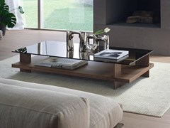 Tavolino rettangolare in legno e vetroPACINI&CAPPELLINI - CORALLO - ARCHIPRODUCTS.COM