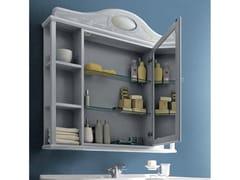 Cerasa, PAESTUM 60 Specchio con contenitore per bagno