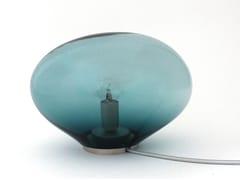 Lampada da tavolo a luce diretta fatta a mano in vetro soffiato PALASI | Lampada da tavolo - Planetoide