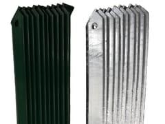 Pali da recinzione in acciaio zincato e/o in PVCPALI PER RECINZIONE PROFILATI A 'L' - LINK INDUSTRIES
