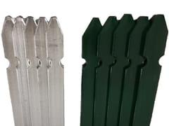 Pali da recinzione in acciaio zincato e/o in PVCPALI PER RECINZIONE PROFILATI A 'T' - LINK INDUSTRIES
