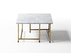 Tavolino quadrato in marmoPALLADIO | Tavolino quadrato - PORRO