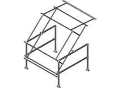Basculante in acciaio zincato a caldo o verniciato gialloPALLETGATE - MODELLO STANDARD - ARTSTEEL