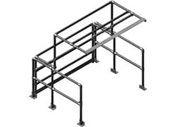Basculante alluminioPALLETGATE - MODELLO EXTRA LARGE - ARTSTEEL