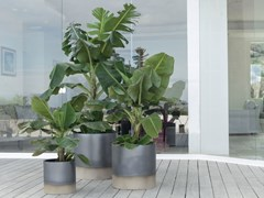 Vaso in ceramica PALM BEACH - DUEELLE