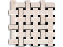 Mosaico in marmoPANAMA   BOTTICINO NERO MARQUINA - IDEAMARMO
