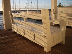 GH LAZZERINI, Panchina 4 Panchina in legno