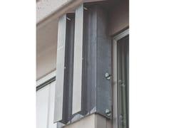 Sistema di vincolo pannello – pilastro con barre filettateVincolo pannello – pilastro - SERIANA EDILIZIA