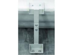 Seriana Edilizia, Ritenuta pannello con profili metallici Sistema di ritenuta del pannello tramite profili metallici