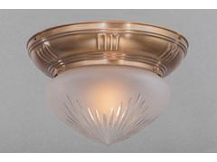 Plafoniera in ottonePANNON 20/2 - PATINAS LIGHTING