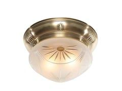 Plafoniera in ottonePANNON 25/4 - PATINAS LIGHTING