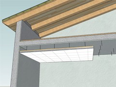 Pannello radiante a soffitto PANTHE QUADRO S60 -