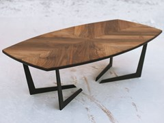 Tavolino da caffè rettangolarePARABOLA S - BOKA PROM DOOEL