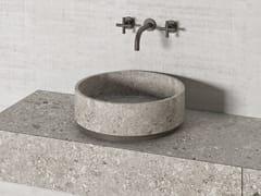 Lavabo rotondo in pietra naturalePARALLEL VS45 | Lavabo rotondo - THE DAVANI GROUP