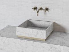 Lavabo quadrato in pietra naturalePARALLEL VS45 | Lavabo quadrato - THE DAVANI GROUP