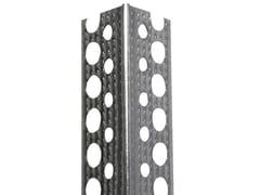Fissaggio speciale per isolante in alluminioPARASPIGOLO CAPPOTTO - BIEMME