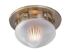Plafoniera in ottonePARIS 20/2 - PATINAS LIGHTING