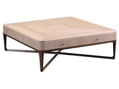 Tavolino basso quadrato in legno impiallacciatoPARK LANE | Tavolino - ROCHE BOBOIS