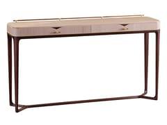 Consolle rettangolare in legno impiallacciato con cassettiPARK LANE | Consolle - ROCHE BOBOIS