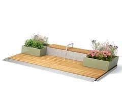 VESTRE, PARKLETS 2.0 PORTAL Panchina in legno