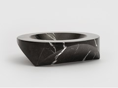 Posacenere in marmo nero MarquinaPAROS D1 - DANESE MILANO