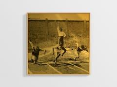 Stampa ad alta qualità fotografica su lastra AllurexPARTENZA DEI 100 METRI NCD-AG-S011 - SPAZIO 81