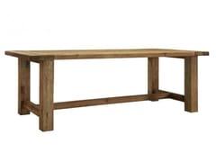 Tavolo da cucina rettangolare in legno masselloPARTY - ARREDIORG