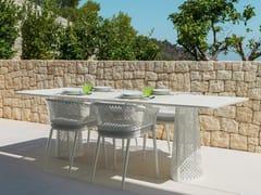 Tavolo da giardino rettangolarePASCAL   Tavolo rettangolare - TALENTI