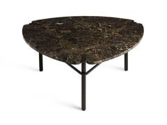 Tavolino triangolare in marmo PASEO | Tavolino triangolare -