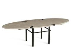 Tavolino ovale in marmo PASEO | Tavolino ovale -