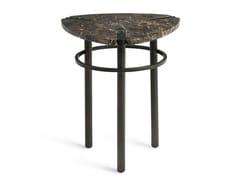 Tavolino triangolare in marmo PASEO | Tavolino in marmo -