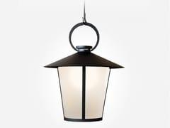 Lampada a sospensione a luce diretta in acciaio e vetroPASSAGE   Lampada a sospensione - KEVIN REILLY COLLECTION