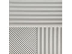 Rivestimento tridimensionale in gres porcellanatoPASSEPARTOUT GRIGIO #2 - CERAMICA FIORANESE