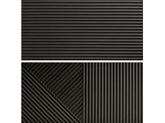 Rivestimento tridimensionale in gres porcellanatoPASSEPARTOUT GRAFITE #2 - CERAMICA FIORANESE