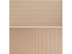 Rivestimento tridimensionale in gres porcellanatoPASSEPARTOUT MANGO #2 - CERAMICA FIORANESE