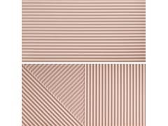 Rivestimento tridimensionale in gres porcellanatoPASSEPARTOUT PINK #2 - CERAMICA FIORANESE