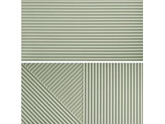 Rivestimento tridimensionale in gres porcellanatoPASSEPARTOUT NEO MINT #2 - CERAMICA FIORANESE