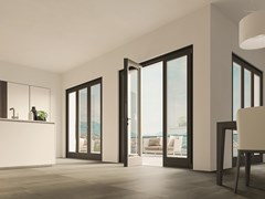 Porta-finestra in alluminio e legnoETERNA | Porta-finestra - BG LEGNO