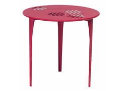 Tavolo da giardino rotondo in acciaio PATTERN | Tavolo rotondo - Pattern