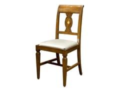 Sedia in noce con cuscino integratoPAVIA - FABER MOBILI