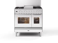 Cucina a libera installazione in acciaioPD09W | Cucina a libera installazione - ILVE
