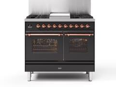 Cucina a libera installazione in acciaioPD10N | Cucina a libera installazione - ILVE
