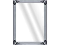 Specchio rettangolare in vetro con cornice da paretePEARL ANTHRACITE - MONDIART INTERNATIONAL