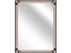 Specchio rettangolare in vetro con cornice da paretePEARL BRONZE - MONDIART INTERNATIONAL